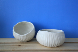 Journey series - pinched bowls