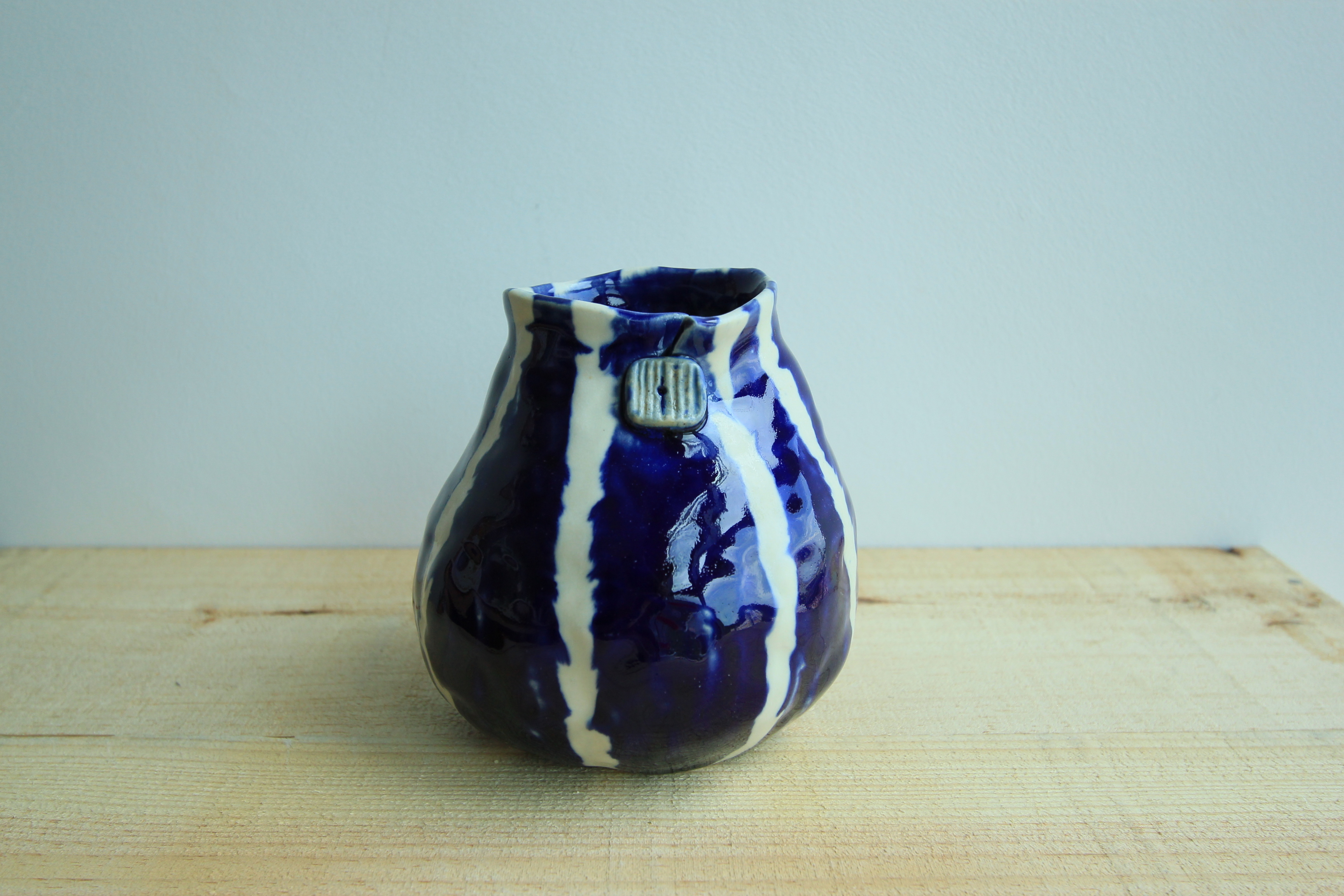Hand pinched vase
