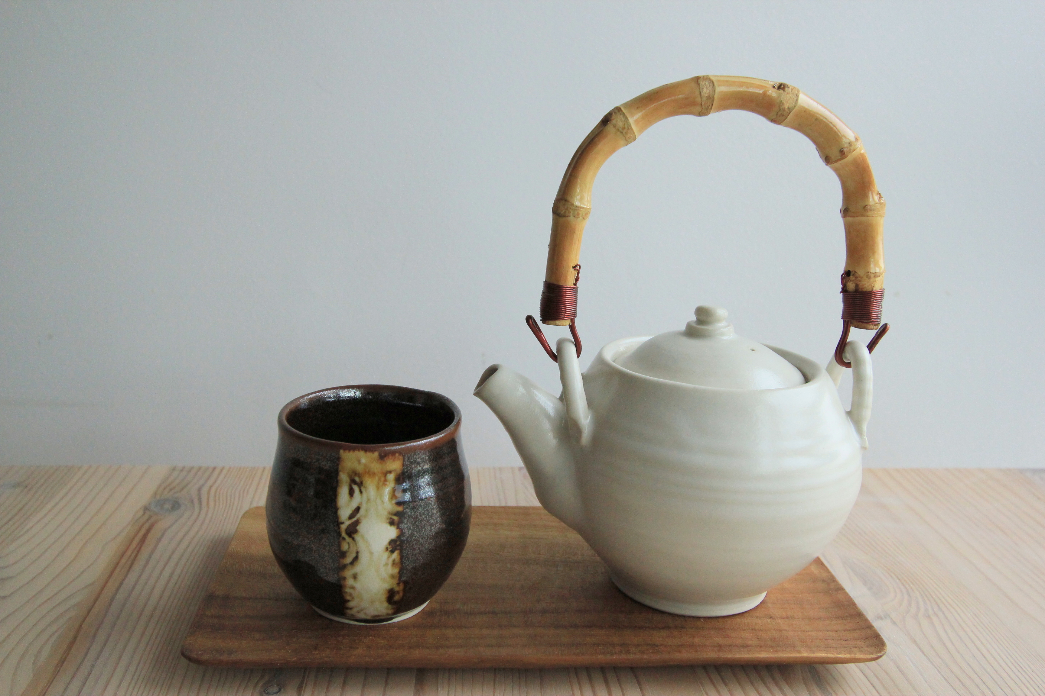 White teapot (sold)