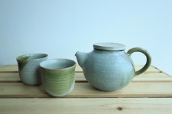 Olive Teapot set