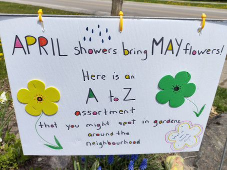 April Showers bring May flowers!  Word Hunt!