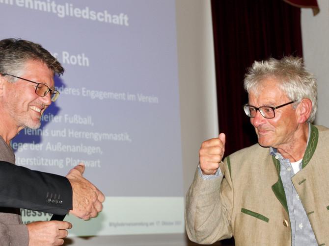 MITGLIEDERVERSAMMLUNG 2021: TSV- u. Verbands-Ehrung für besondere Verdienste, Ehrenmitgliedschaften