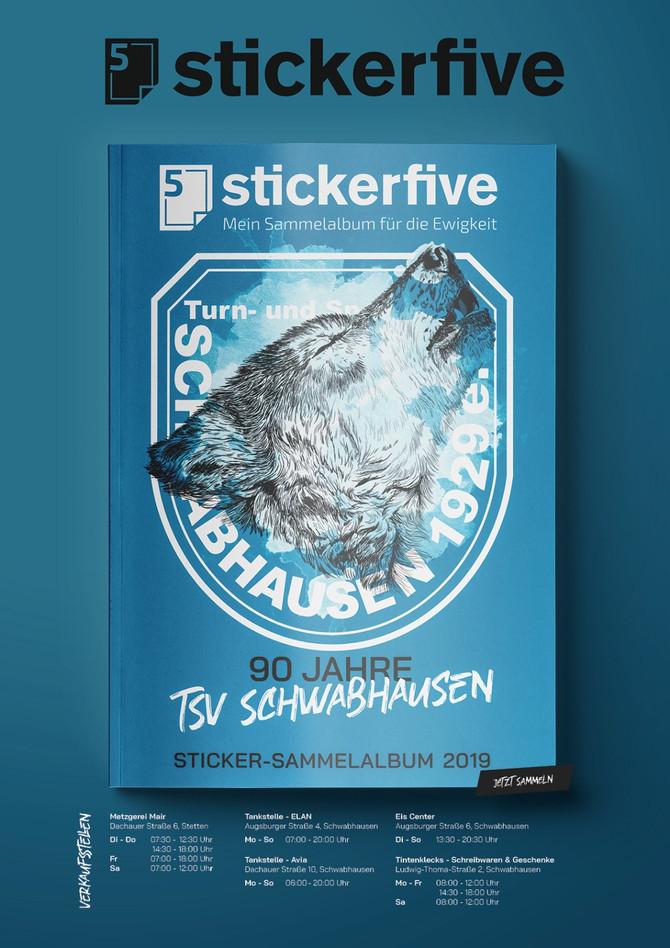 SAMMELFIEBER AUSGEBROCHEN: Der TSV hat jetzt sein eigenes Sticker Sammelalbum!
