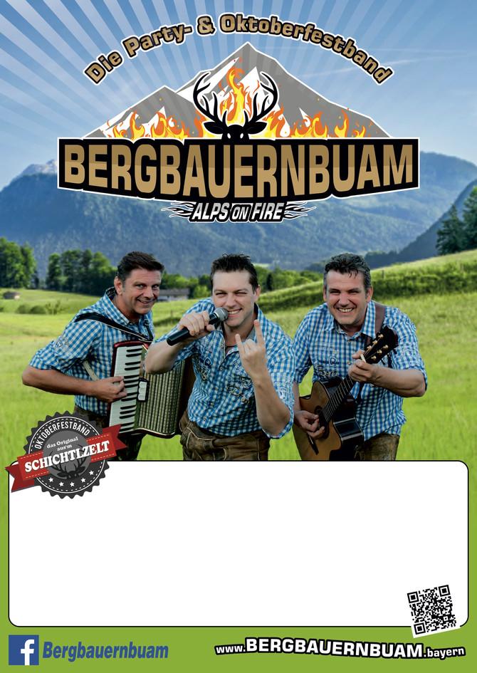 ALPS ON FIRE: Die Bergbauernbuam werden uns am TSV Bier Fest so richtig einheizen!