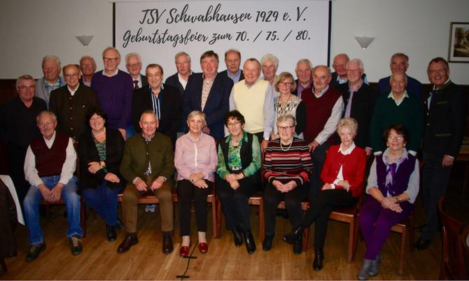 TSV-GEBURTSTAGSPARTY 2019: Erneut eine tolle Feier!