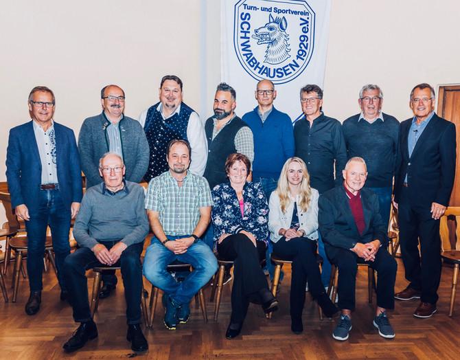 NEUE VORSTANDSCHFT BEIM TSV: Neuwahlen auf der Mitgliederversammlung 2019