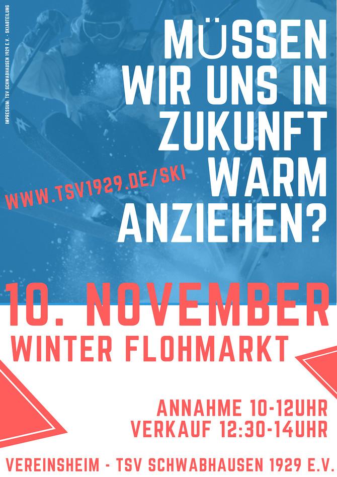 WINTER-FLOHMARKT: Müssen wir uns in Zukunft warm anziehen?