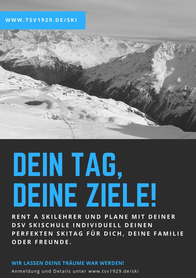 RENT A SKILEHRER: Dein Tag im Schnee!