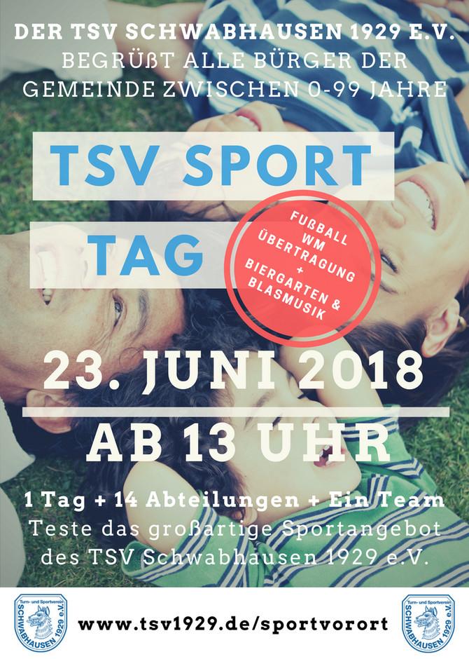 SPORTFEST 2018: Unser #sportvorort Poster!