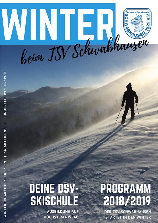 WINTERPROGRAMM 2018/2019: Wir lieben den Winter!