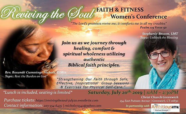 Reviving the Soul - Faith & Fitness Wome