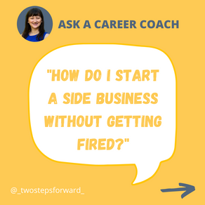 How do I start a side business without getting fired?