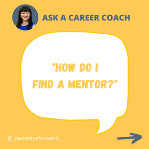 How do I find a mentor?