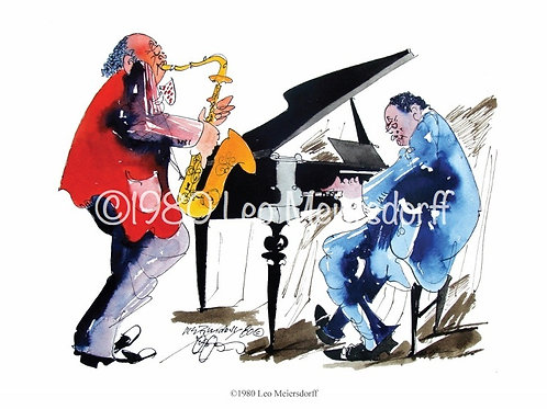 """Jazz Duos"" Note Card Set"