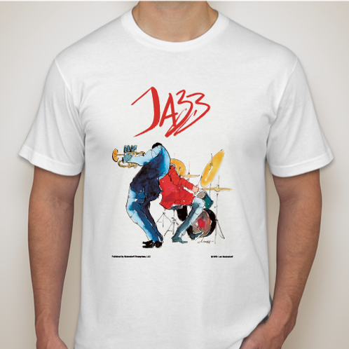 """Jazz...Monday Nights"" T-Shirt"