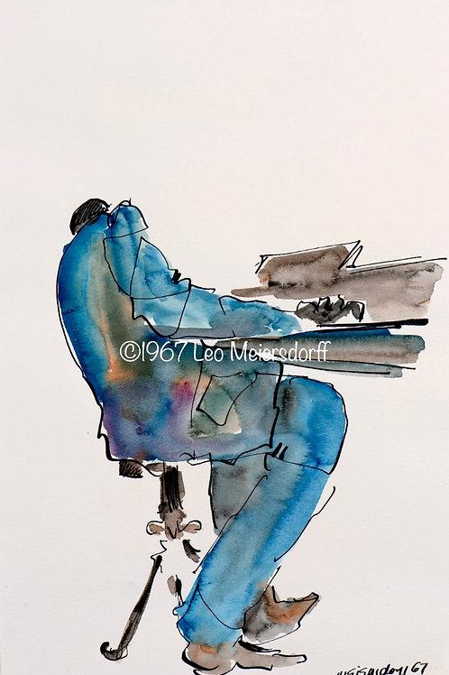 """Blaue Pianist"""