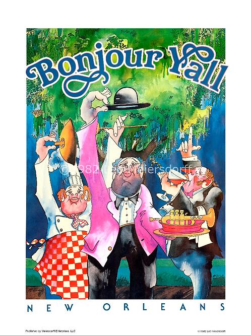 """Bonjour Y'all"""