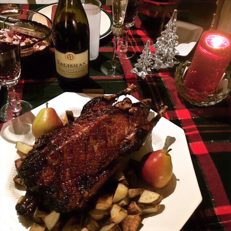 Holiglazed Roasted Duck by guest blogger--T. Green (with recipe!)