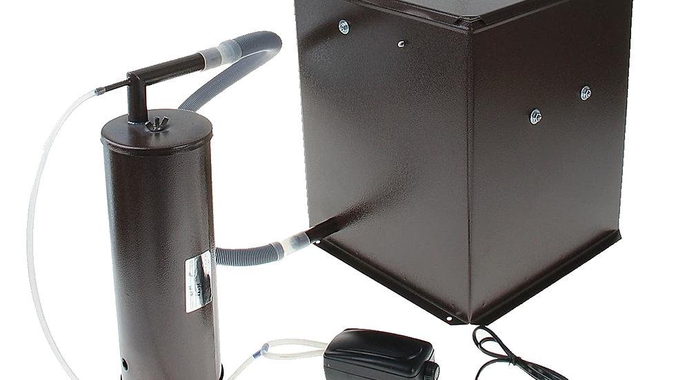 """Коптильня холодного копчения """"Дым Дымыч"""", М-01Б, (дымогенератор+емкость 50л),УЗБ"""