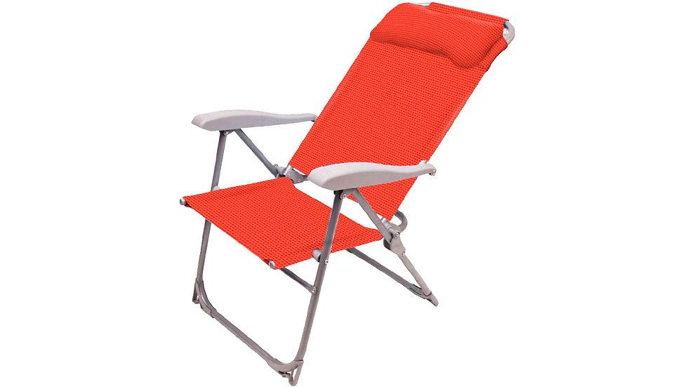 Кресло-шезлонг складное 2 Гранат К2 до 120кг