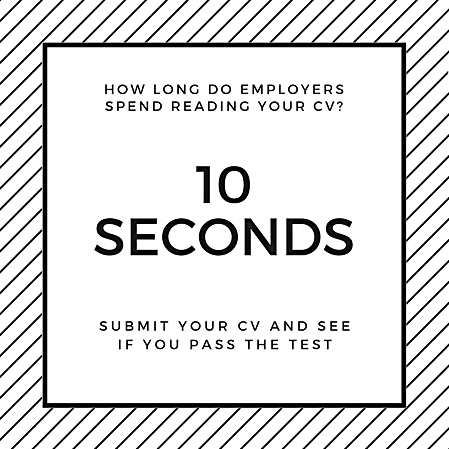 HOW LONG DO EMPLOYERS SPEND READING YOUR