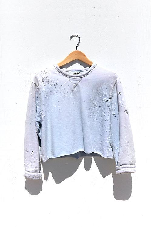 Cropped Ice Sweatshirt