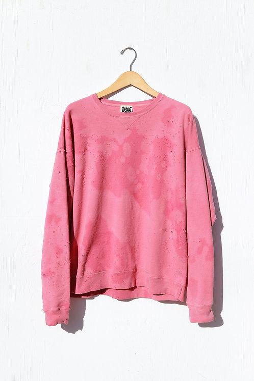 Faded Bubble Gum Sweatshirt