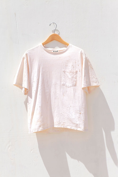 Rust Dyed Pocket Tee