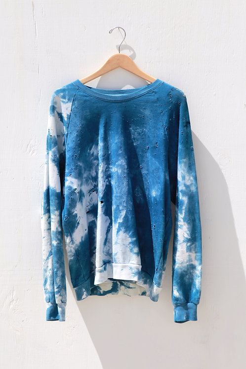 Indigo Fleece Sweatshirt