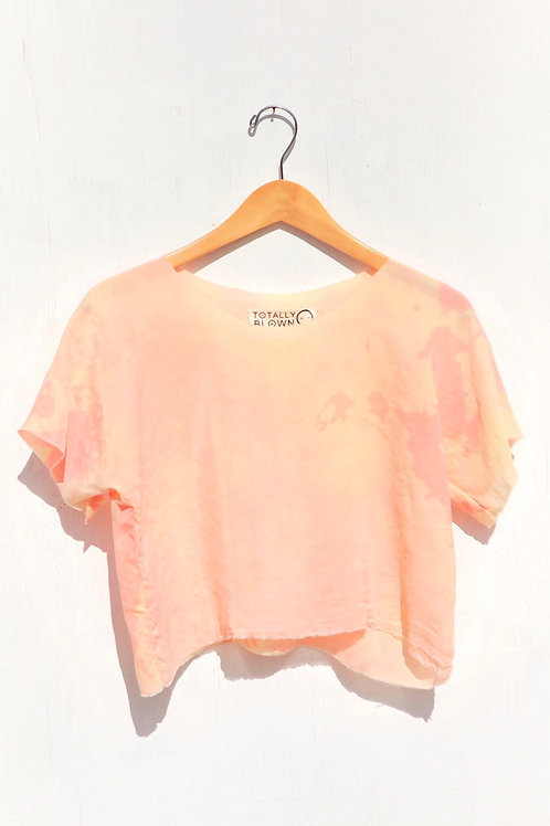 Peaches Crop Blouse