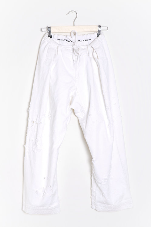 White Canvas Pant