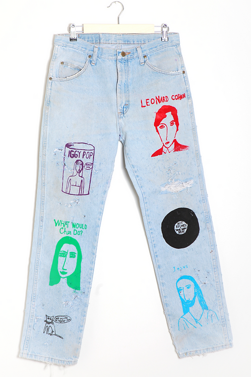 Shari Elf Blue Jeans