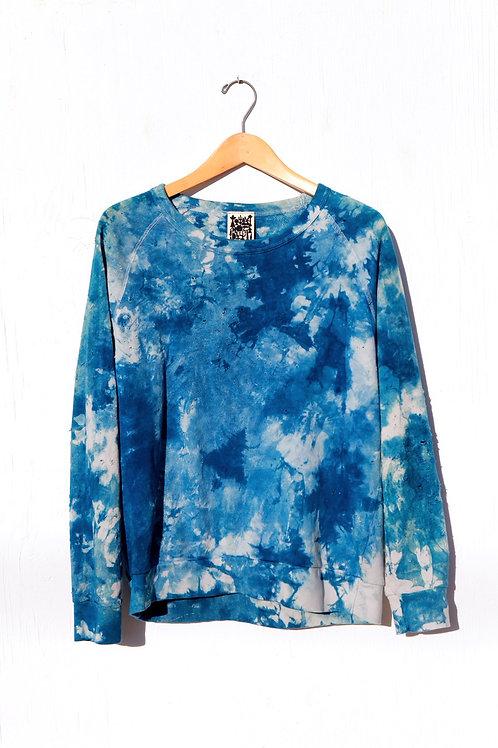Double Indigo Sweatshirt