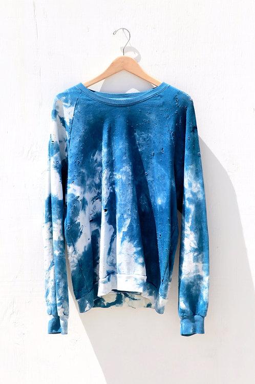 Indigo Fleece Sweatshirt