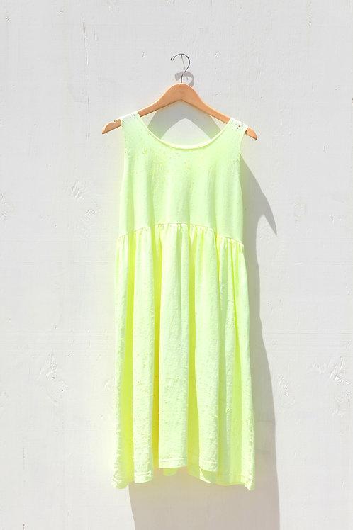 Soft Neon Jersey Dress