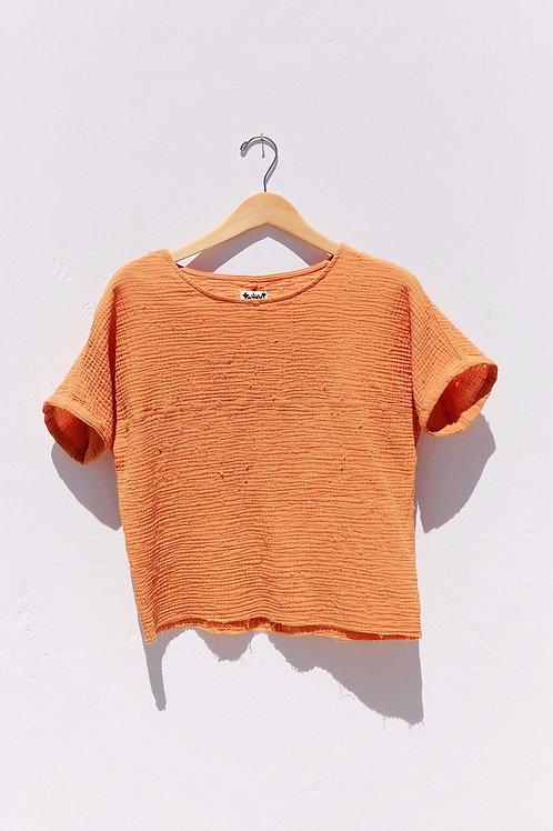Orange Brooke Blouse