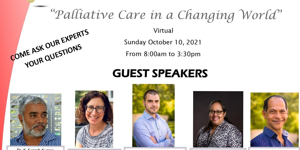 The Palliative Care Society of Trinidad and Tobago: 8th Palliative Care Conference 2021