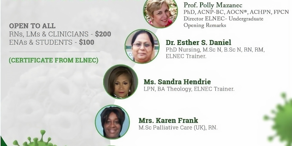 The End-of-Life Nursing Education Consortium (ELNEC) COVID-19 Webinar