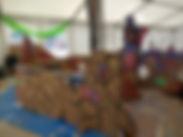 Cardboard Painting Workshop