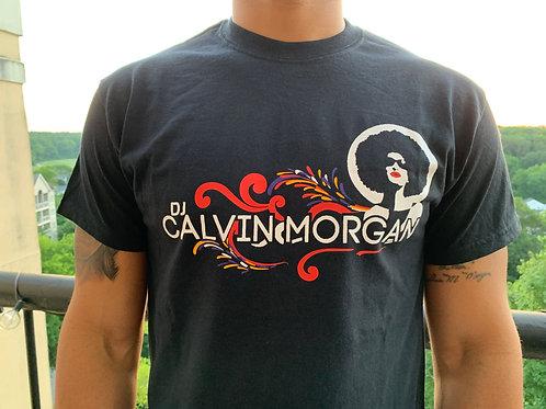 DJ Calvin Morgan Colorful Black Tee
