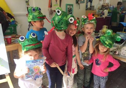 Frog Hat Scrapstore Workshop