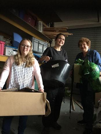 Volunteers at Ragtag Community Scrapstore