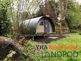 New Landpod glamping pods come to YHA sites across the UK as the trend for embracing the great outdo
