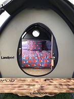 Timber festival Landpod Glamping music festival