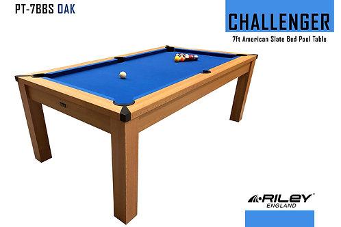 Riley Challenger Slate Pool Table - 7ft American Pool
