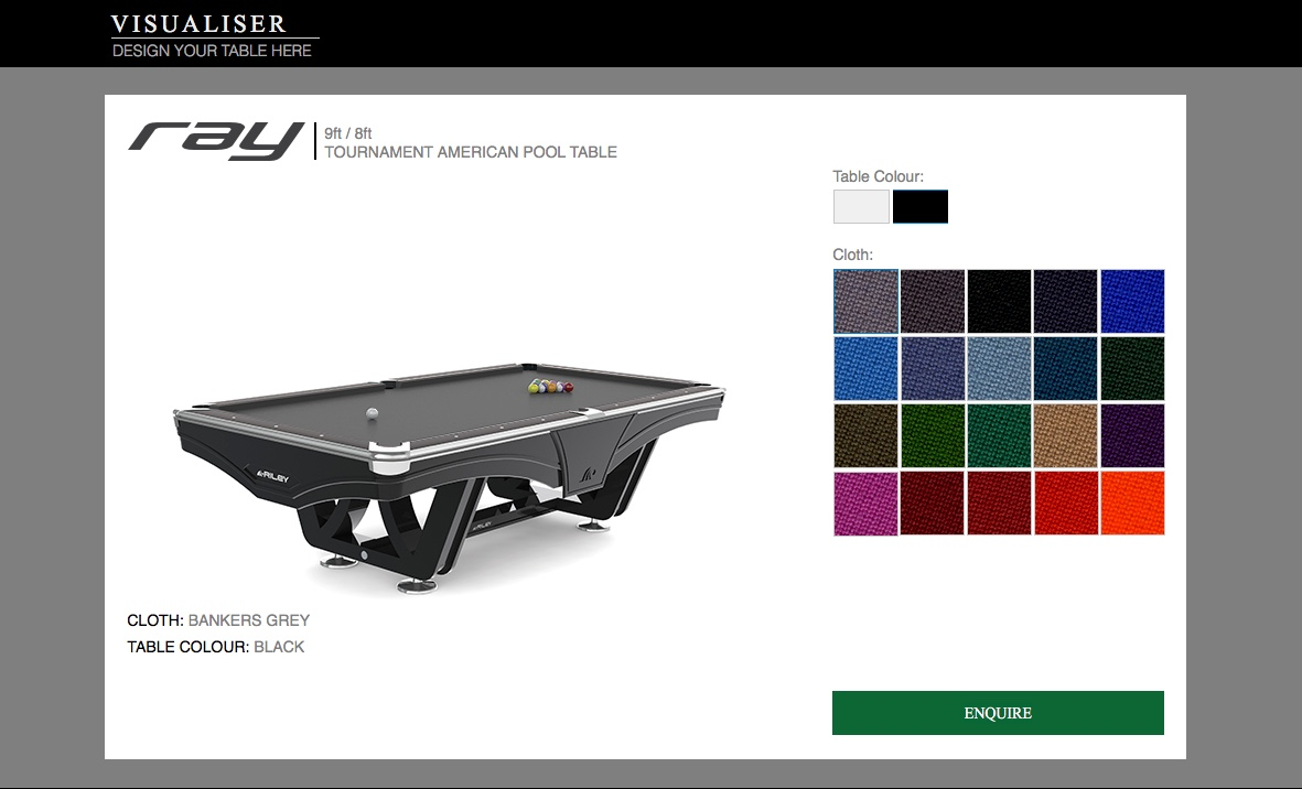 Riley Table Visualiser