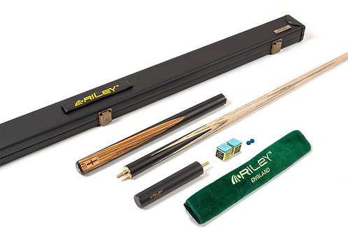 Riley England Sapele Series 1 - 3/4 Snooker Cue & Case Set