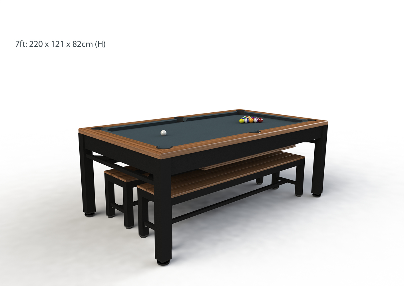 Riley Continental 7ft Pool Table