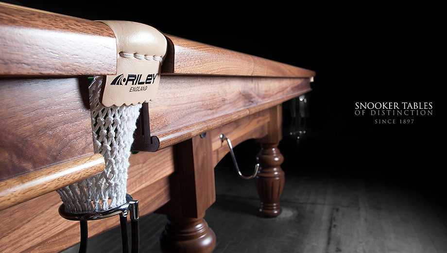 Riley England Distributors For Snooker and Pool Tables