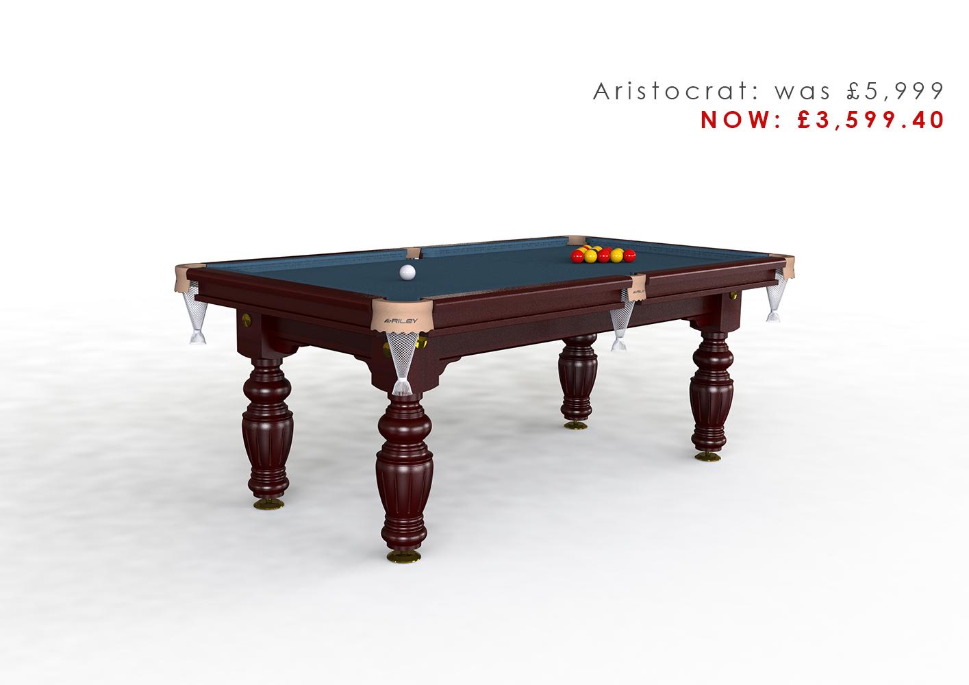 Riley Aristocrat 7ft Pool Diner
